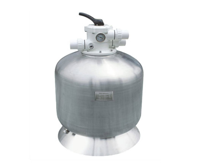 不锈钢过滤砂缸(顶出水)